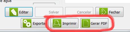 Imprimir ou gerar PDF